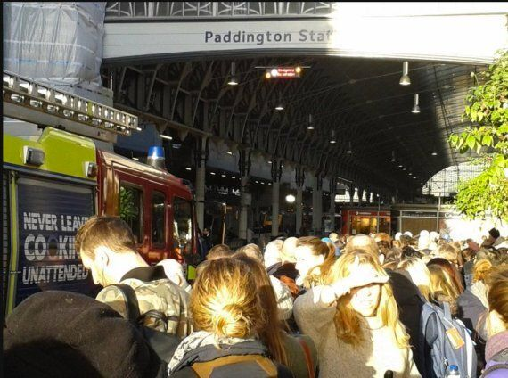 Paddington Station Evacuated And Commuters Warned To Expect Delays After Fire