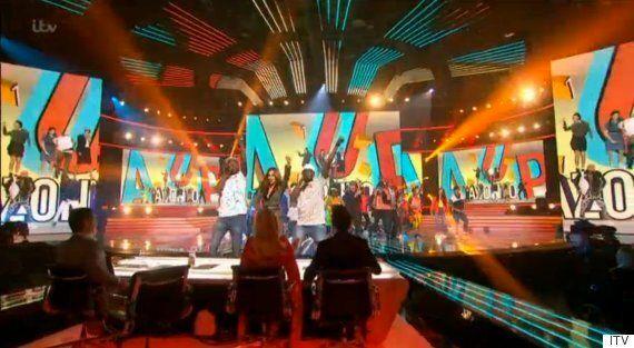 'X Factor': Cheryl Fernandez-Versini Joins Reggie 'N' Bollie During Live Show Performance