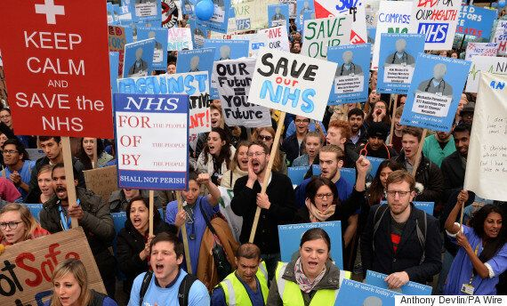Junior Doctors Strike Could See Army Medics Drafted In To Provide