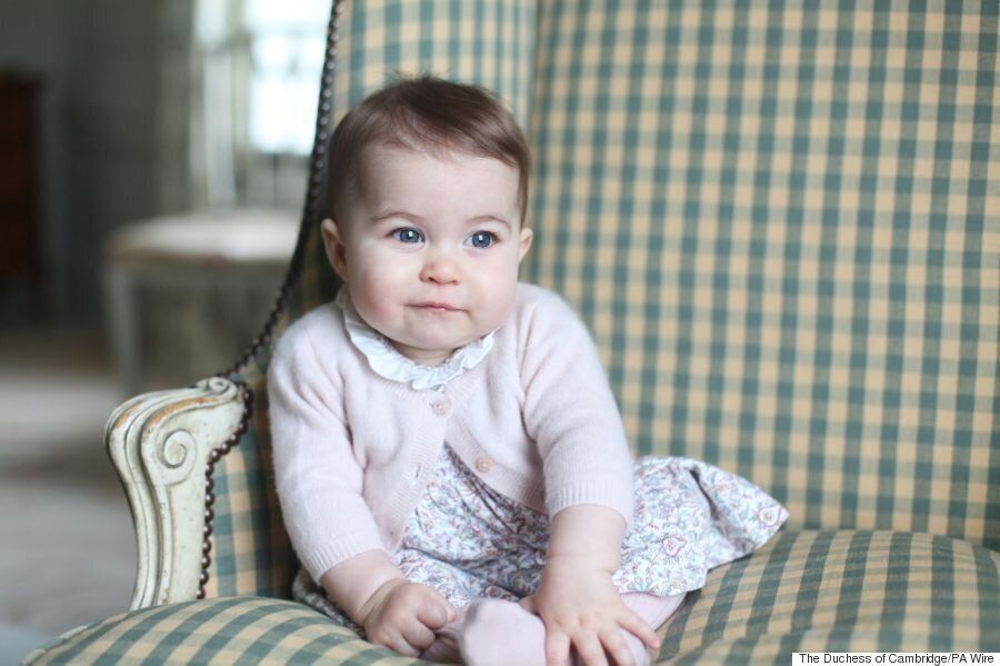 Princess Charlotte Pictures Taken By Duchess Of Cambridge
