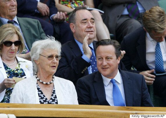 David Cameron's Mum, Mary Cameron, Signs Petition Opposing Tory Spending