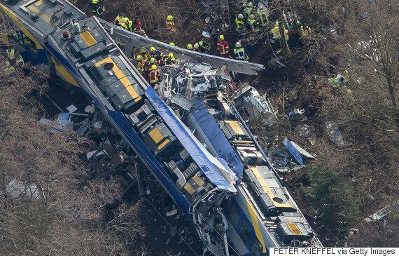 Germany Train Crash: Ten Killed In Head-On Collision At Bad Aibling,