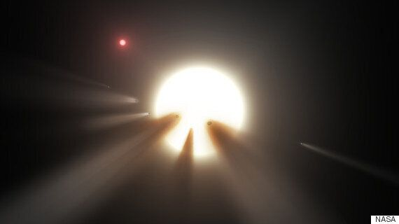 'Alien Megastructure' Solar System Spotted By Kepler Space Telescope Most Likely A Star Swarmed By Comets...