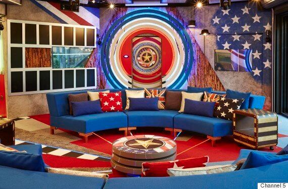 'Celebrity Big Brother' 2015: House Undergoes Red, White And Blue Makeover For 'UK vs USA'
