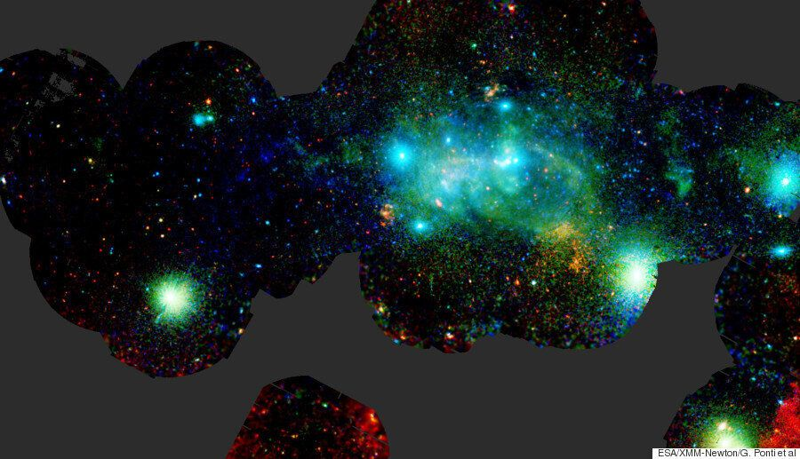 European Space Agency Captures Stunning Image Of The Centre Of Our