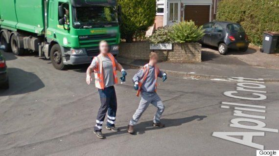 Birmingham Dancing Bin Men Caught On Google Street View 'Reminds People They Are Human' Says