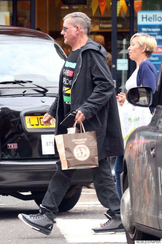 Dale Winton Breaks Cover After Missing Cilla Black's Funeral, Sporting A Striking New
