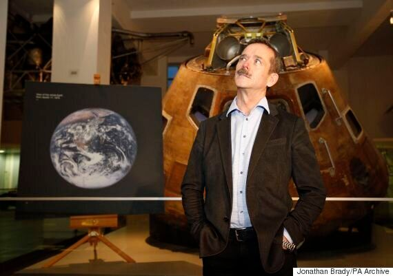 Astronaut Chris Hadfield Says We're 'On The Cusp' Of Discovering Alien