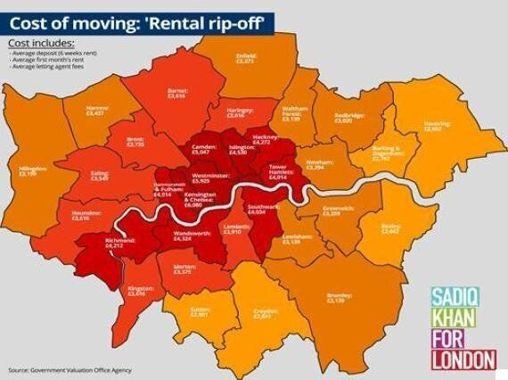 Londoners Face 'Rip-off' Fees Equal To Six Weeks' Wages To Rent Home, Sadiq Khan