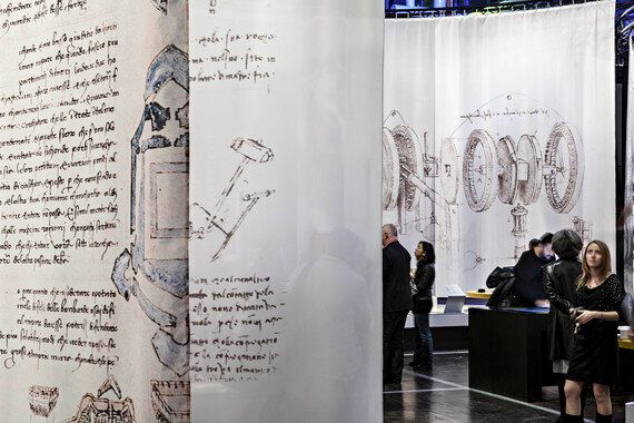 Fascinating Leonardo da Vinci Exhibition Opens at Science
