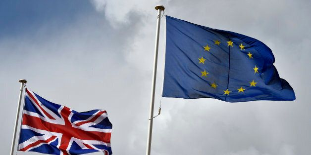 File photo dated 27/11/2015 of the Union flag flutters next to the EU flag. A deal on changes to the...