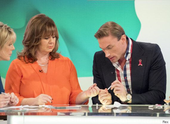 'Loose Women': Dr Christian Jessen Defends Decision Not To Wear Gloves During Live HIV Test On Coleen...