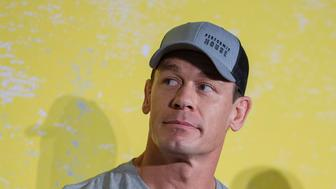BENTONVILLE, ARKANSAS - MAY 11: John Cena at the FitOps panel at the 5th Annual Bentonville Film Festival  on May 11, 2019 in Bentonville, Arkansas. (Photo by Tasos Katopodis/Getty Images for Bentonville Film Festival)