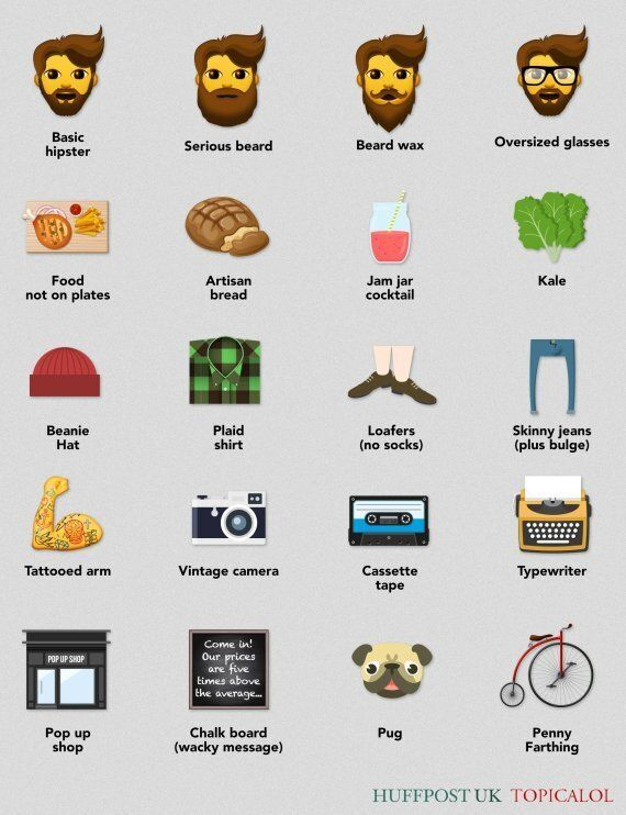 Hipster Emojis Are