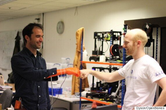 3D Printed Low-cost Robotic Hand For Amputees Wins James Dyson