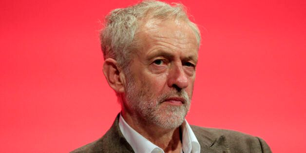 Labour Party leader Jeremy Corbyn, as Labour MPs are to be granted a free vote on air strikes against...