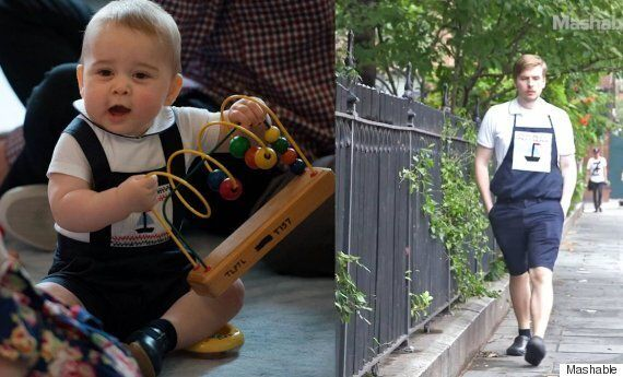 This Grown Man Dressed Like Prince George For A Week... Here's What
