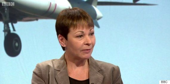 Caroline Lucas And Labour MP Mary Creagh Argue Over Islamic State Action On Daily