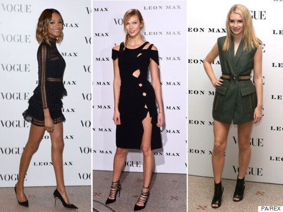 Vogue 100 Exhibition Party: Cast Your Vote For The Best Dressed Models And