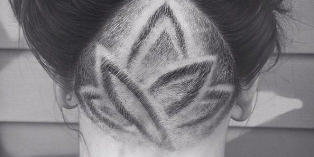 Hidden Hair Tattoos: The Beauty Trend That Can Be Your Little