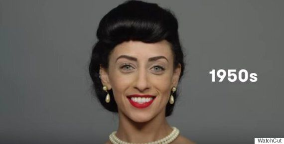 See 100 Years Of Egyptian Beauty Looks In Under Two Minutes From Minimal Makeup To Signature