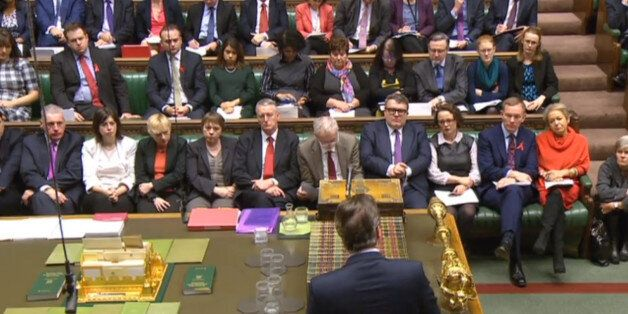 Prime Minister David Cameron makes a statement to MPs in the House of Commons where he set out his case...