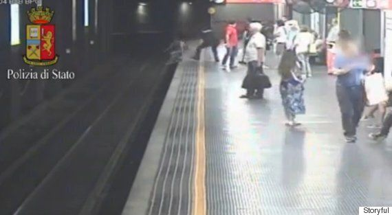 Police Save Woman From Suicide Attempt On Milan Metro