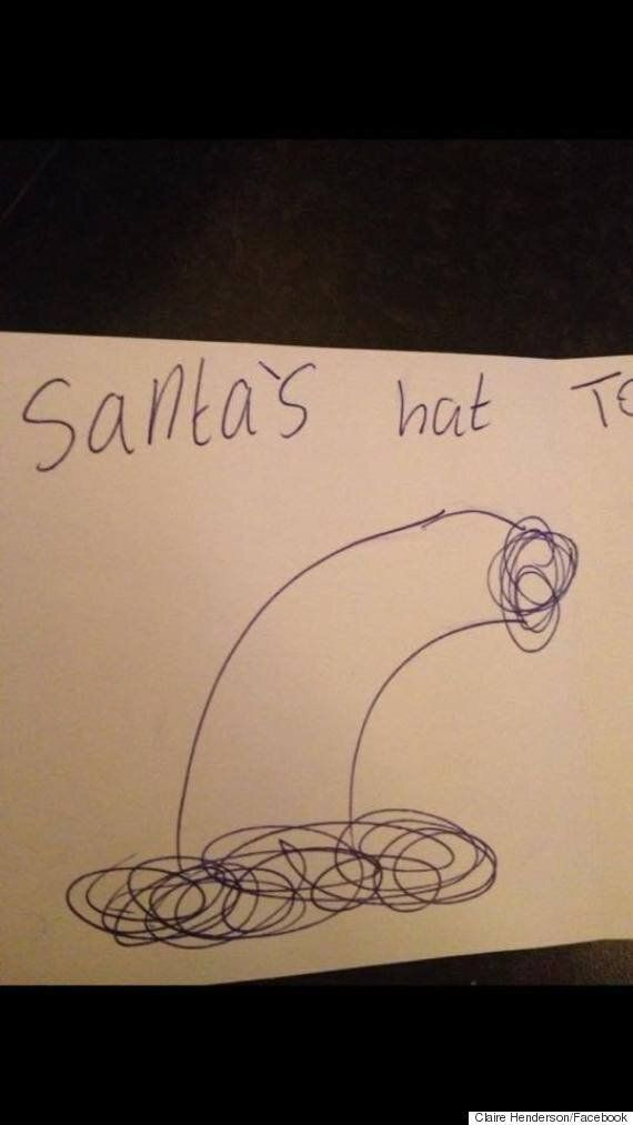 mum's post about son's inappropriate christmas card