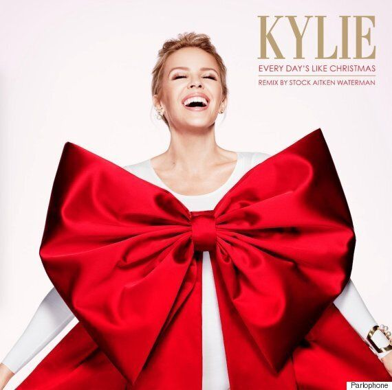 Kylie Minogue Enlists Help Of Stock Aitken And Waterman For Christmas Number One