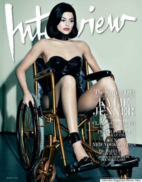 Kylie Jenner Interview Magazine Shoot: Publication Defends Use Of Wheelchair As