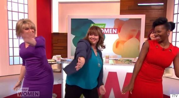 'Loose Women' Panellists Jamelia, Ruth Langsford And Coleen Nolan Dance To 'Watch Me (Whip/Nae Nae)'