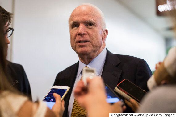 John McCain Calls RAF A 'Token' Force That Will 'Drop A Few Bomb' In Syria Should It Join The