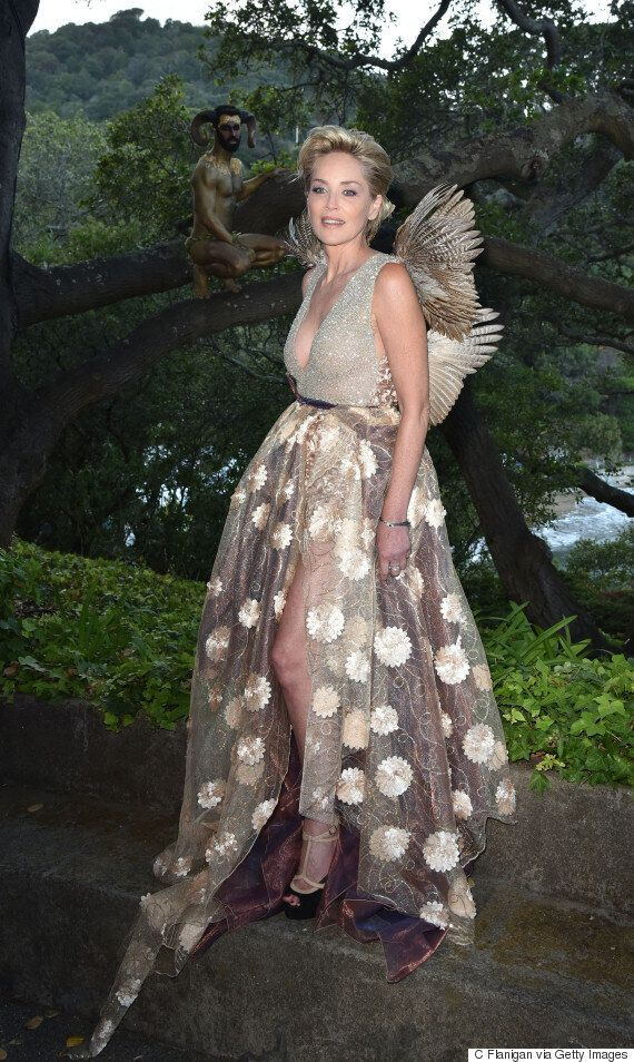Sharon Stone's Fairy Winged Dress: Proof You Can Embody Your Childhood Dreams At Any