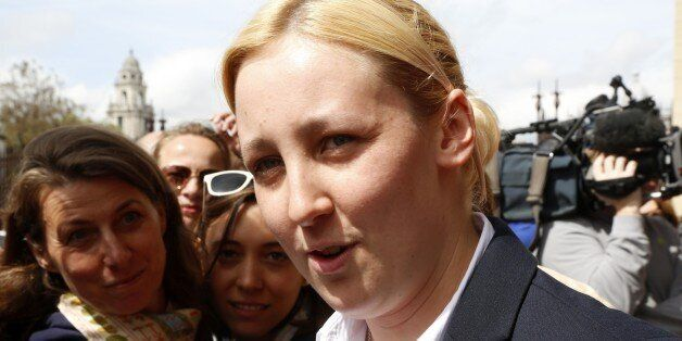 Mhairi Black, Britain's youngest member of parliament since 1667 at the age of