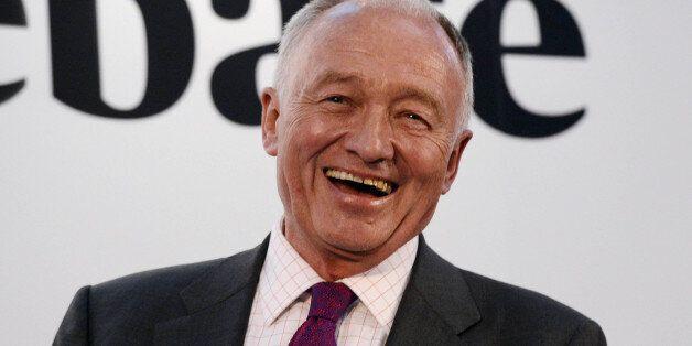 Ken Livingstone during the Evening Standard Mayoral Debate in