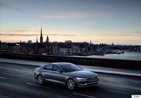 Volvo S90 Revealed With Advanced Self-Driving