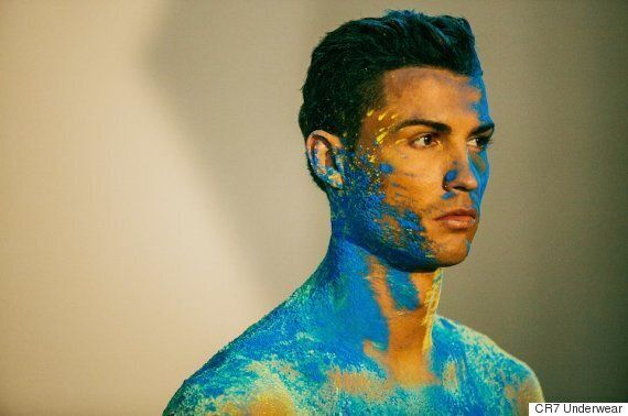 Cristiano Ronaldo CR7 Underwear Campaign Turns The Footballer Into A Work Of