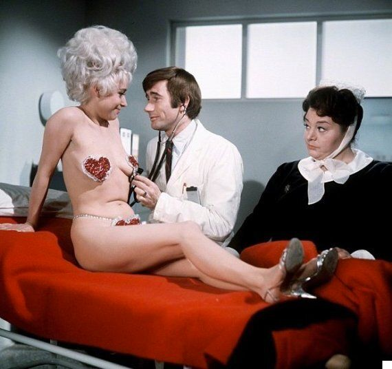 Miley Cyrus Channels Barbara Windsor In 'Carry On Again Doctor' For Nipple Pastie-Wearing Jimmy Kimmel