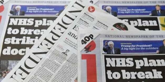 The Independent Newspaper To Cease Publication And Go Digital-Only After 30 Years Of