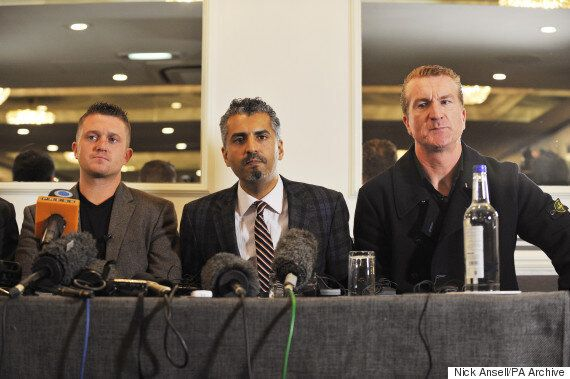 Tommy Robinson, Former EDL Leader, Claims Quilliam Paid Him To Quit Far-Right
