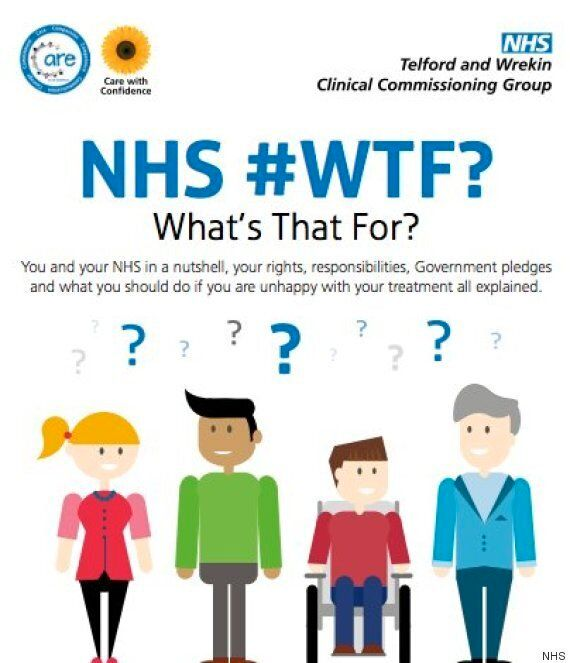 NHS 'What's That For?' Leaflet Seriously Misunderstands