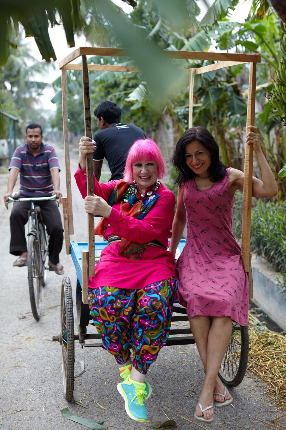 Zandra Rhodes On London Fashion Week And Sustainable Fashion: 'Soon We Won't Have People Or A