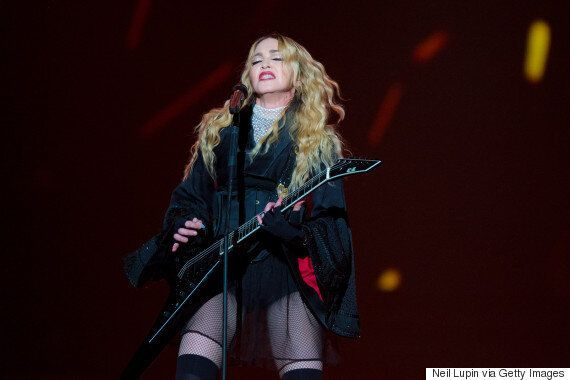 Madonna Accused Of Using 'Fake Police Car' To Cut Through London Traffic After 'Rebel Heart' O2