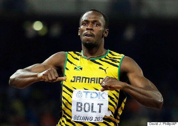 Usain Bolt Wins 200 Metres Gold Medal At World Championships In China Beating Justin