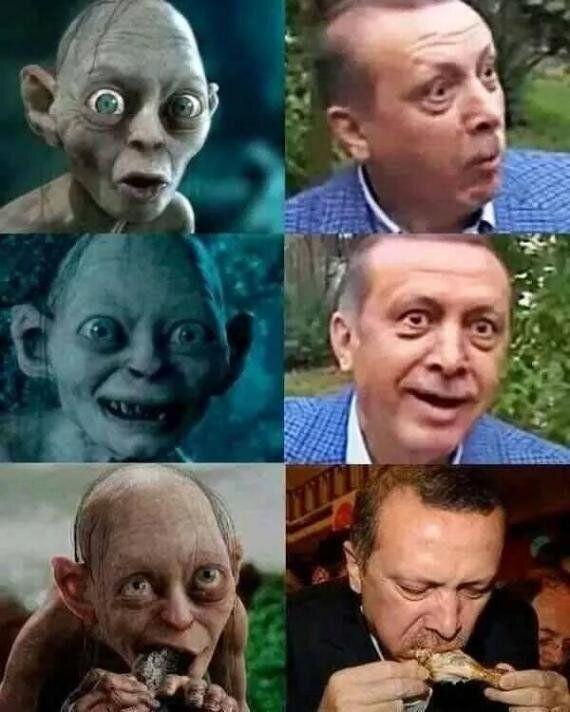 The Erdogan Gollum Meme Has Really Annoyed Turkey's