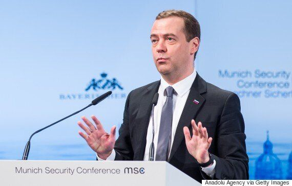 Russian Prime Minister Dmitry Medvedev Says West And Russia Heading For 'New Cold