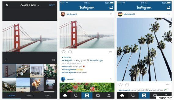 Instagram Introduce Landscape And Portrait Crop Options In Addition To Traditional