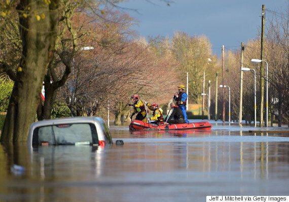 Cumbria Worst Hit By Storm Desmond Floods As Military Called In To Help Rescue Stranded