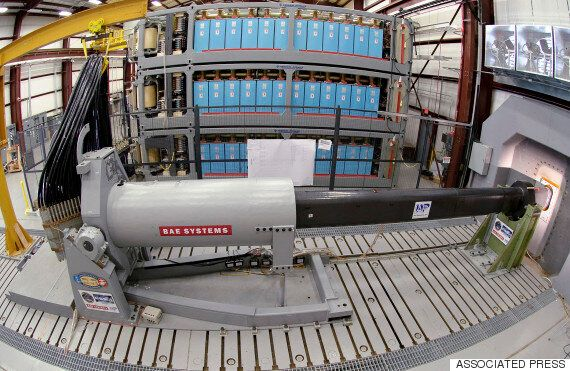 US Navy's Railgun Could Be Installed On New Stealth
