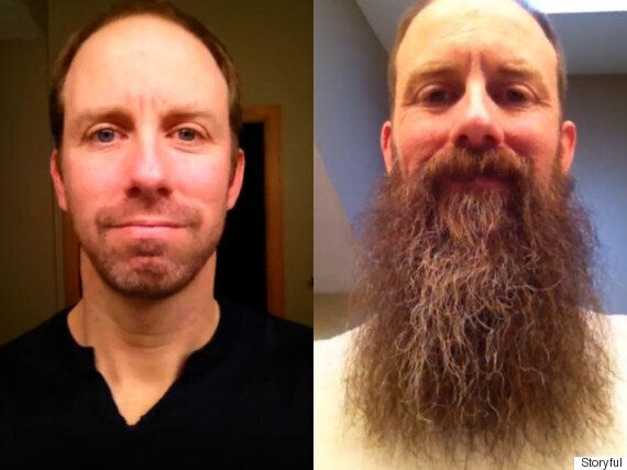 Beard Time Lapse Video: One Year In The Life Of A